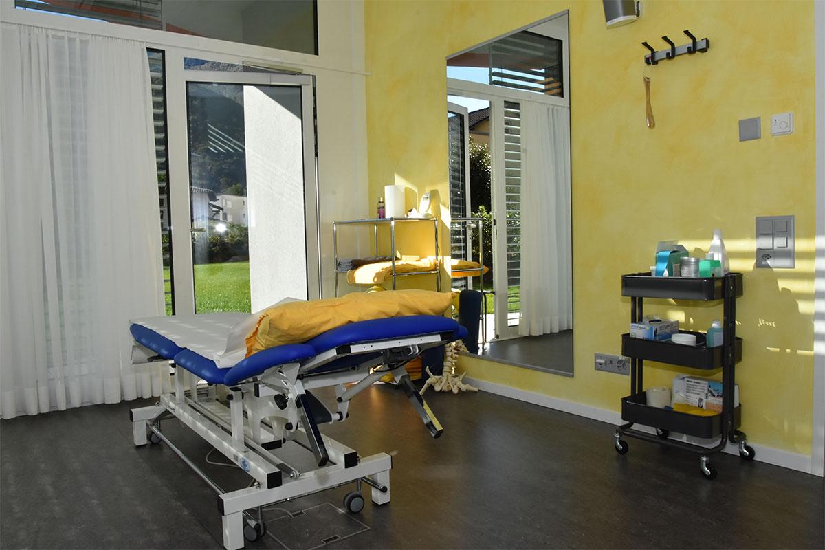 Sala Massaggi Gialla