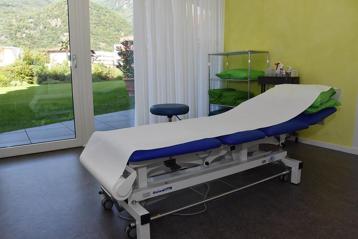 Sala Massaggi Verde